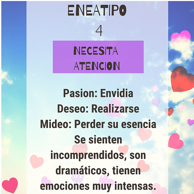 Eneagramas Eneatipo 4